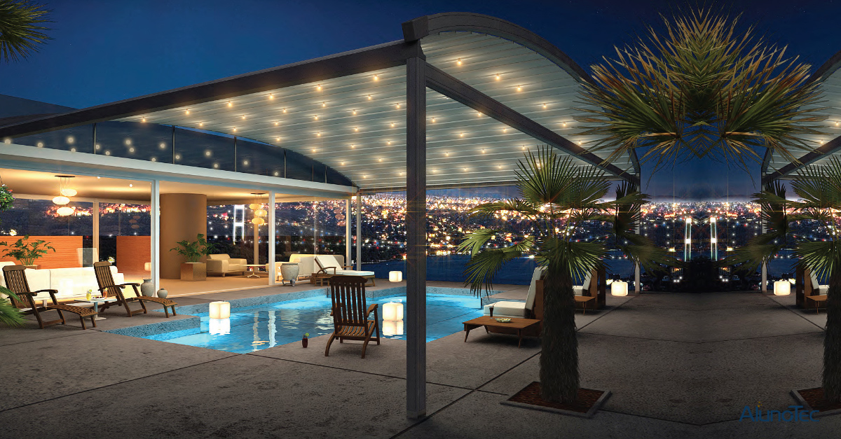Retractable Roof Pergola Shows You The Stars