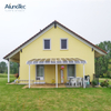Modern China Waterproof Polycarbonate Roof Patio Awning Design With Aluminum Structure