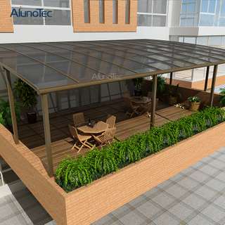 Low Price Unique Design Aluminium R Patio Awning For Outdoor