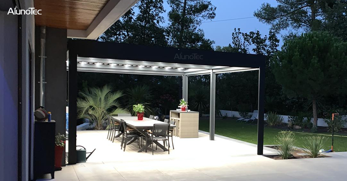 Aluminum Pergola for Your Back Yard