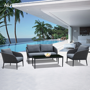 Outdoor Upholstery Sectional Sets Garden Patio Sofa Furniture