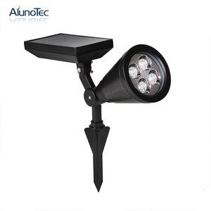Rainproof Garden Light Landscape Ground Spotlight Solar Led Lamp