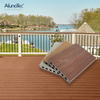 Easy Installation Waterproof Wood Plastic Composite WPC Decking For Garden