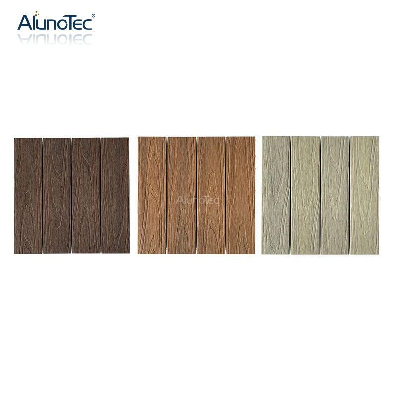 New Style WPC Outdoor Flooring Wood Plastic Waterproof WPC Decking