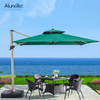 Anti-UV Folding Cantilever Aluminum Parasols Umbrellas for Outdoor Patio Sunshades