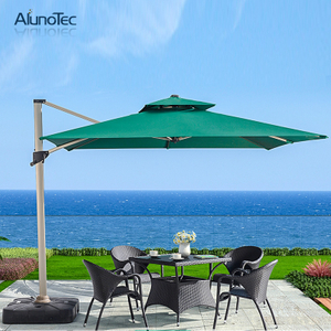 Outdoor Anti-UV Garden Patio Round Roman Umbrella